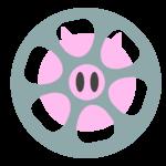 Logoen til Perler For Svin